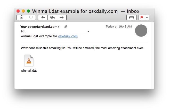 Que sont les fichiers Winmail.dat?